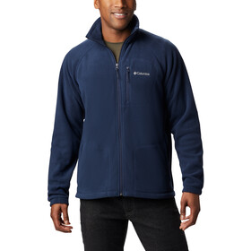 Columbia Fast Trek II Giacca in pile con zip intera Uomo, collegiate navy/collegiate navy zip